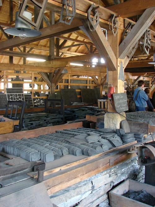 Schieferpark Lehesten: In der Spalthütte