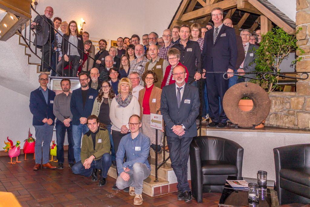 Die Tagungsteilnehmer bei der Vortragsveranstaltung im Parkhotel Witten (Foto: H. Gerschel)