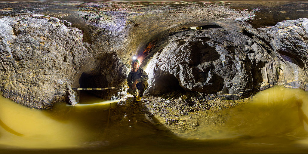 Historischer Silbererzbergbau Dippoldiswalde (Foto: Sächsisches Landesamt für Archäologie)